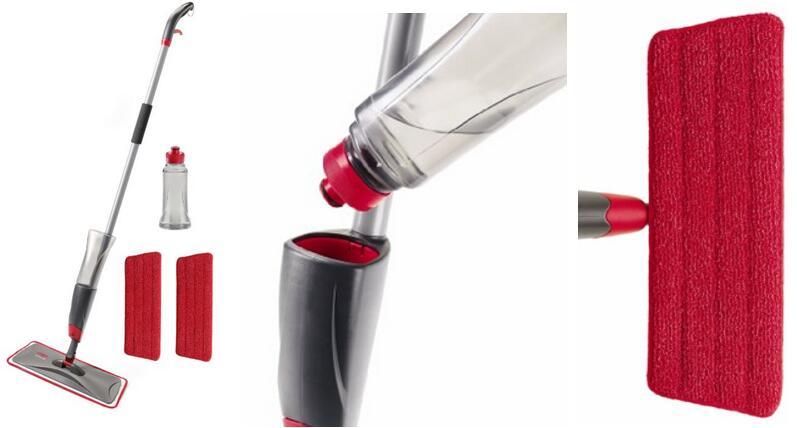 Rubbermaid Reveal Spray Mop Kit FG1M1600GRYRD