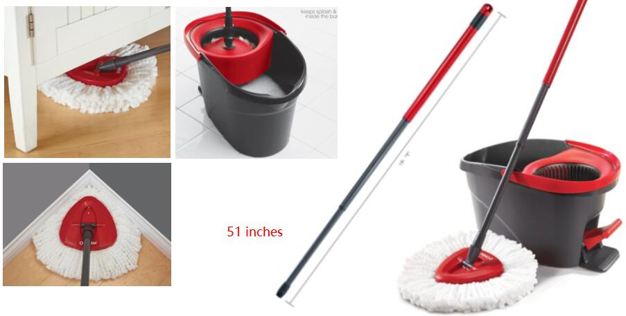 Top rated O-Cedar Easy Wring Spin Mop and Bucket System