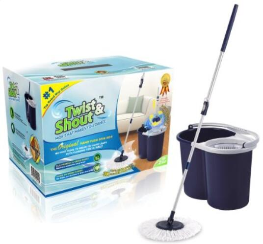 Twist and Shout Mop - Original Hand Push Spin Mop