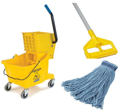 best commercial mop and bucket