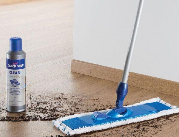 best way to wash vinyl floors