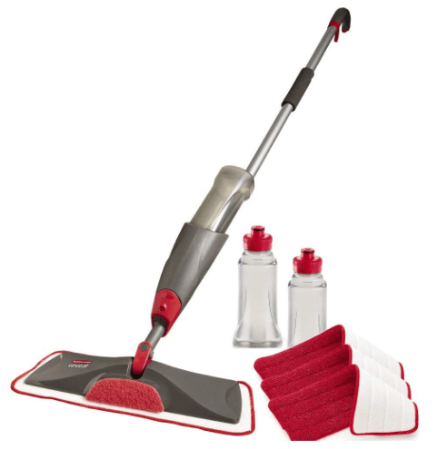 rubbermaid spray floor mop