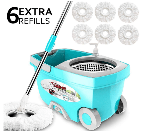 spin mop and bucket