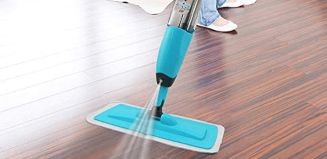 spray mop floor