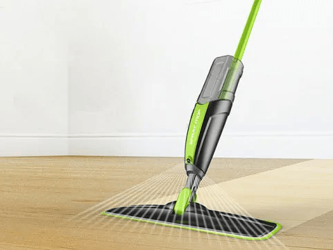 use spray mop