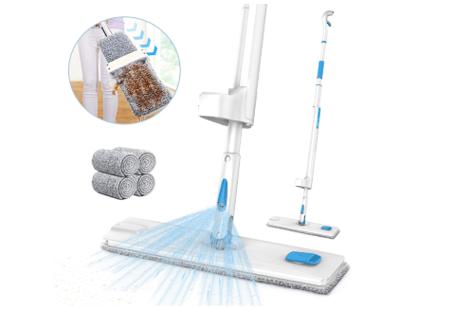 best spray wet mop