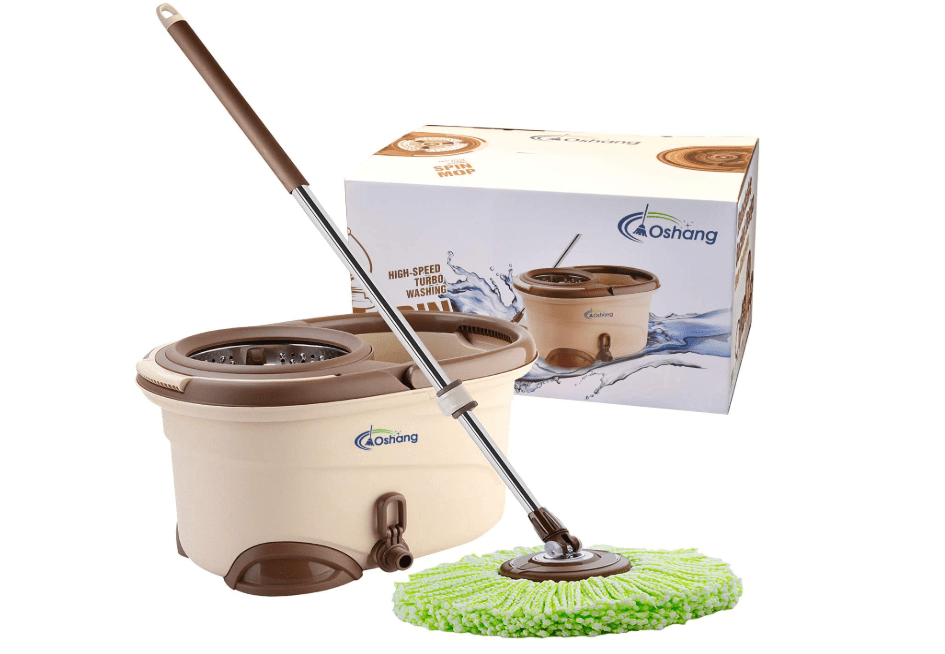 best wet dry spin mop