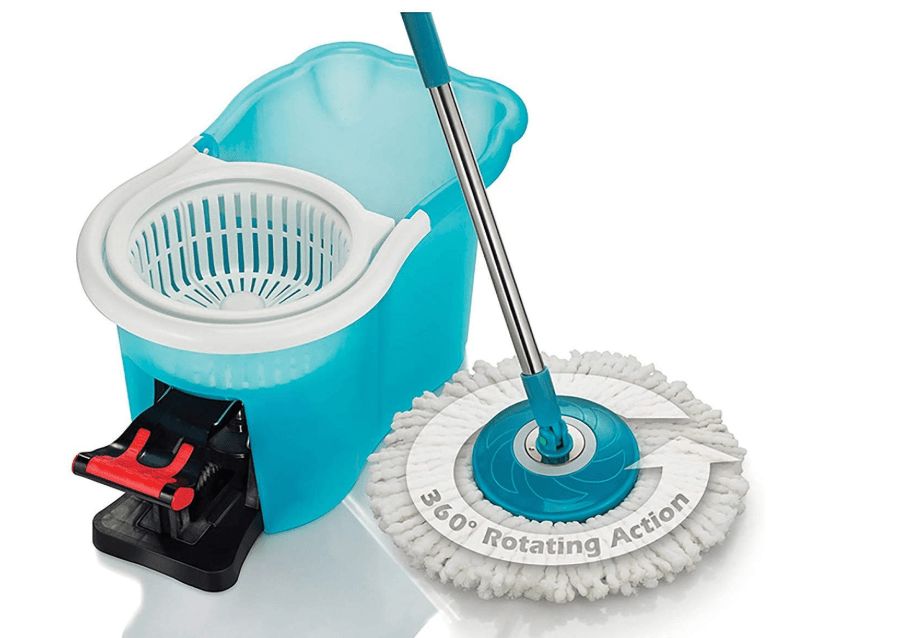 hurricane spin mop for hardwood