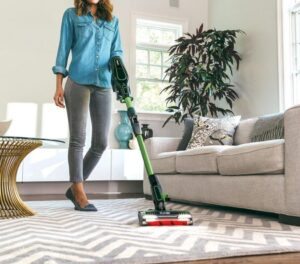 electric spinning mop
