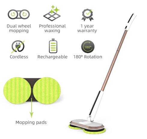best cheap cordless mop