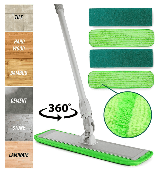 best microfiber mop for large areas