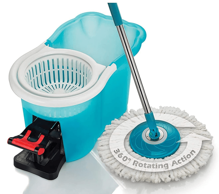 home cleaning large areas