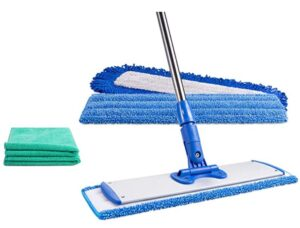 microfiber mop with a long pole
