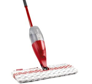 spray mop with a large water tank