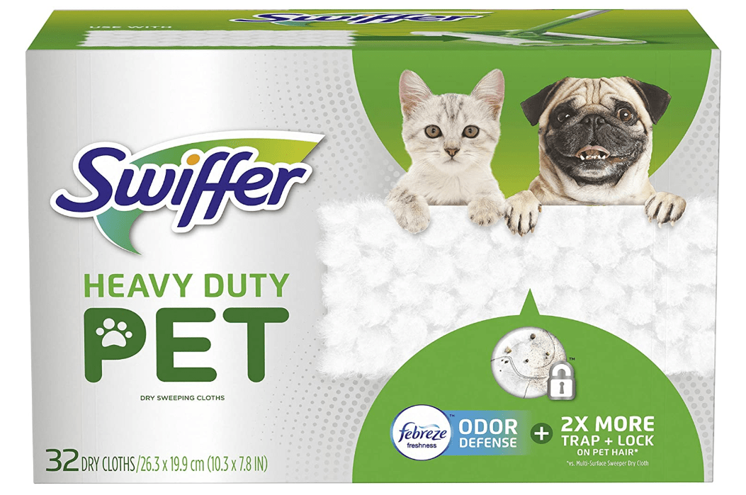 swiffer sweeper for dog hair