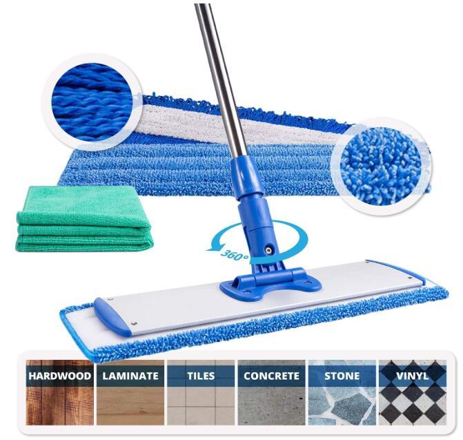 Professional Microfiber Hardwood Floor Mop