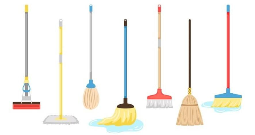 different types of mop