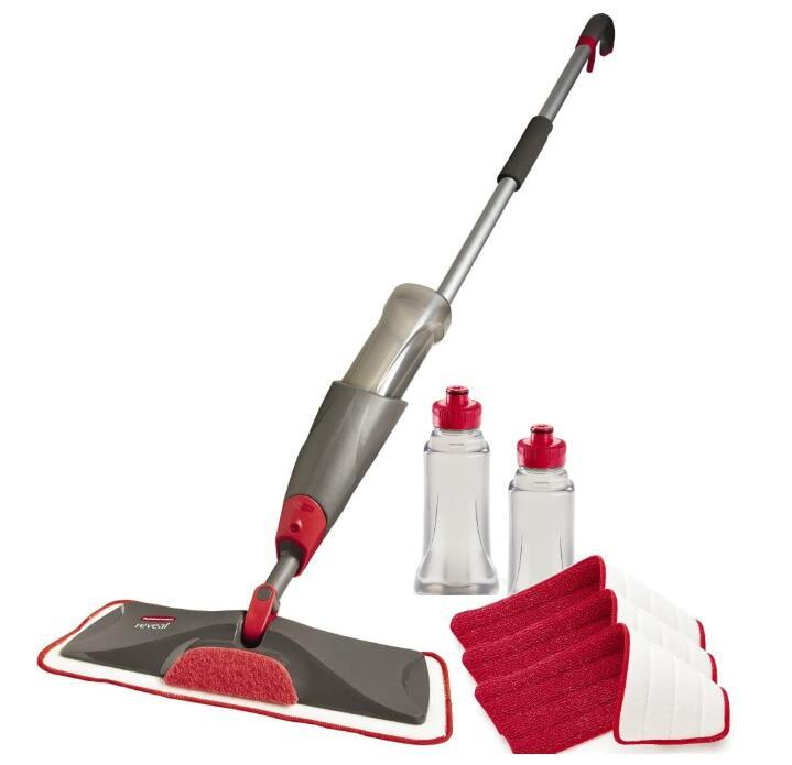 rubbermaid spray mop for hardwood floors