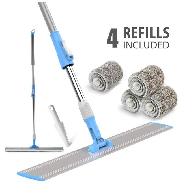 wet and dry floor cleaning system