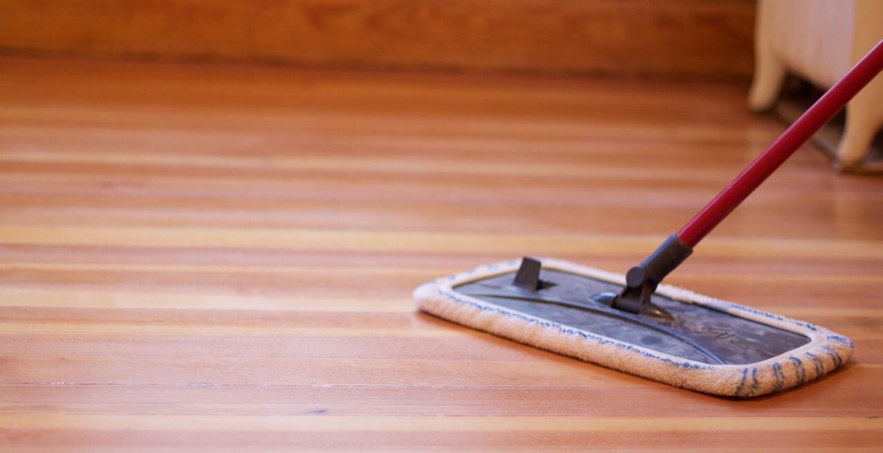 hardwood floors dry mop