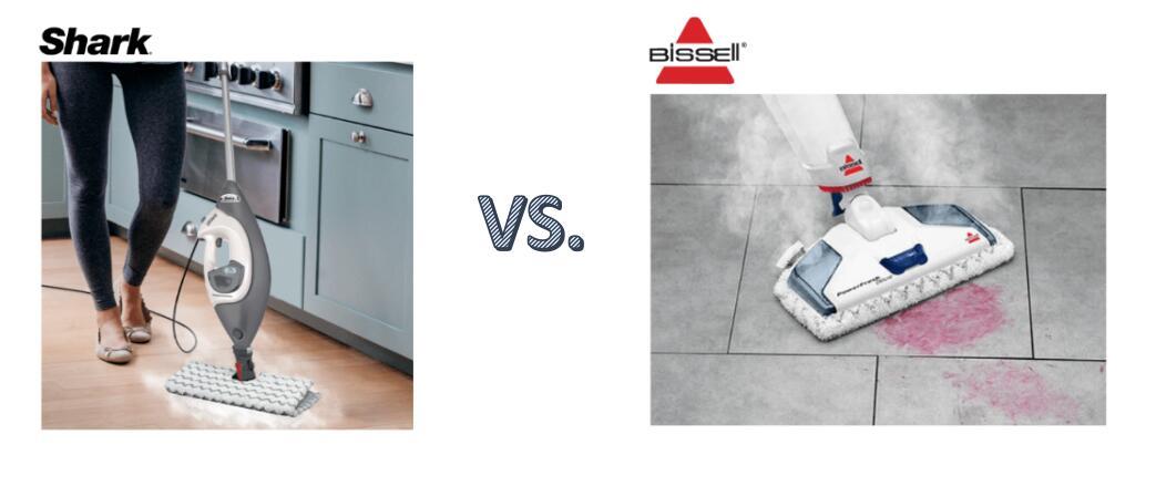 shark vs bissell steam mop