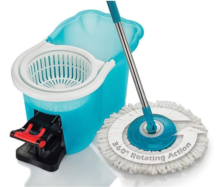 spin mop for bathroom tile floors