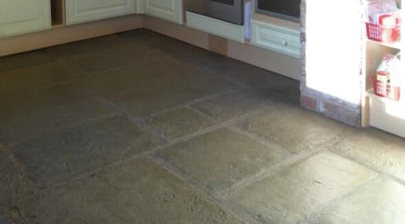 wax stone floors