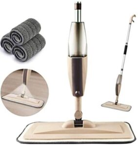Beyoco wet and dry spray mop without leakage for tile floors