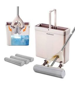 professional cotton sponge mop and bucket set