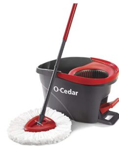 o cedar easywring microfiber mop and bucket set for small spaces