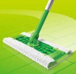 Swiffer sweeper mop for small spaces