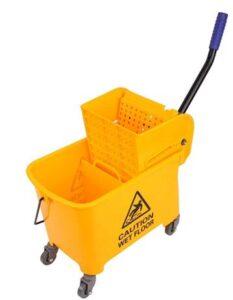 affordable 21 quart mop bucket with side wringer