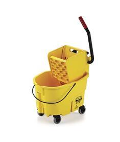 Rubbermaid durable 26 quart indoor mop bucket with wringer