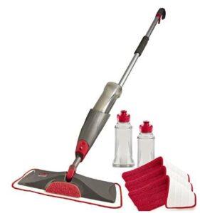 rubbermaid reveal microfiber spray mop review