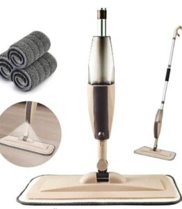 2 in 1 flat mop and spray mop