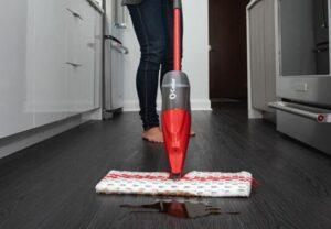 cedar promist max microfiber spray mop