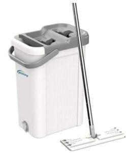 flat mop and bucket wringer for home