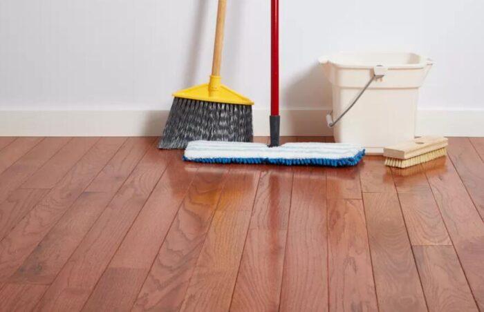 how to polish wood floors naturally
