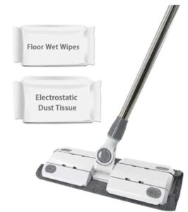 electrostatic dust mop for pet hair
