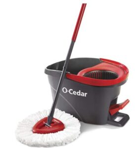 heavy duty microfiber mop and bucket with foot pedal