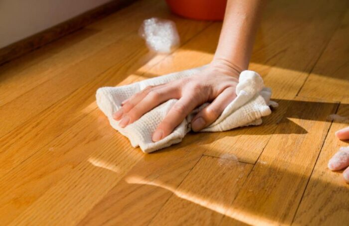 how to get pee stains out of hardwood floors