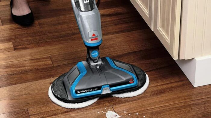 industrial electric mop to remive dust and stubborn stain