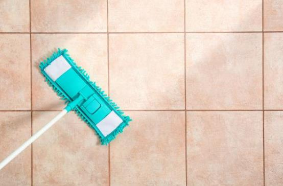 how to clean shiny floor tiles without streaks