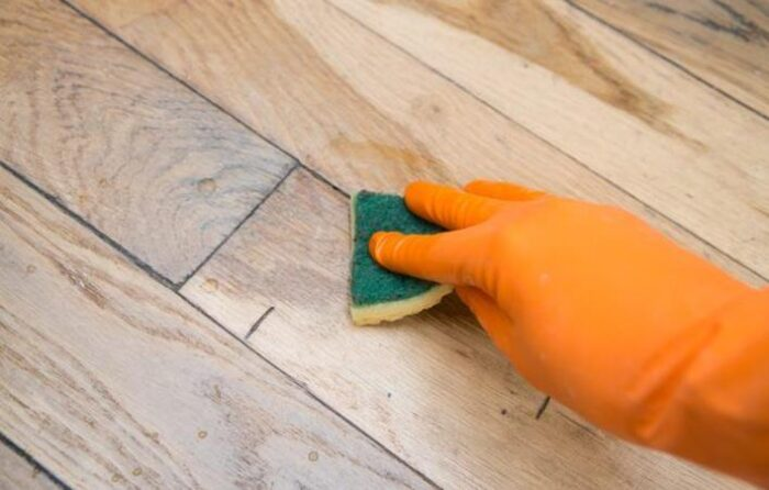 how to get small scratches out of wood floor