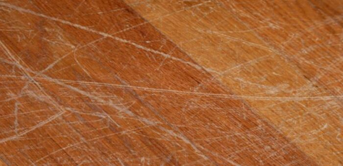 how to take scratches out of hardwood floors