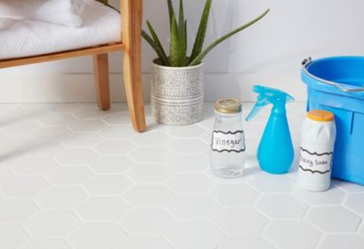 how to clean quarry tiles
