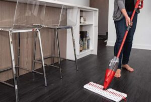 spray automatic spin mop