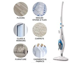 Light And Maneuverable steam mop
