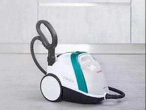 Cylinder steam mop for walls