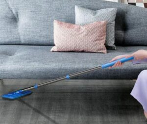 flat mop be used under furniture